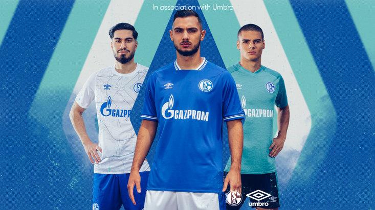 FC Schalke 04 Away SS Uomo Umbro in Jersey Sport e tempo libero ...