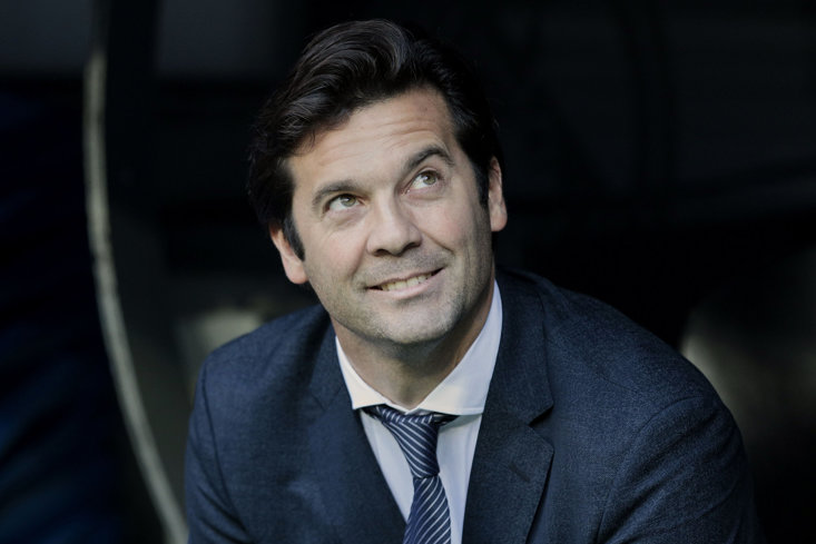 Solari has bagged the job for now