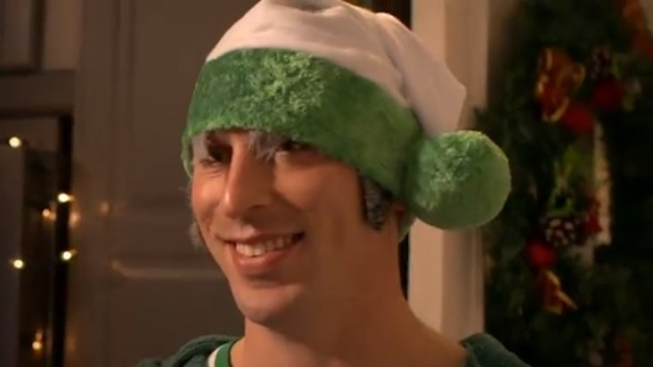 Celtic's Scott Brown Dressed As An Elf - Obviously