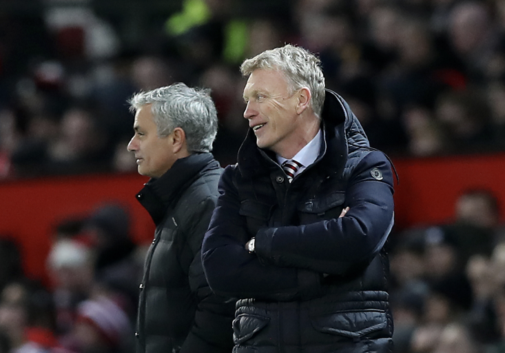 A comparison of Jose Mourinho and David Moyes' results doesn't make pleasant reading for Man Utd fans