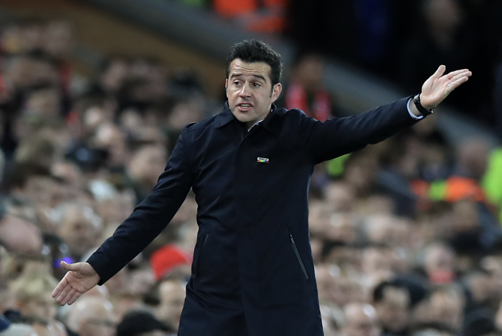 Everton manager Marco Silva: Sometimes maybe good, sometimes maybe...(you know the rest)