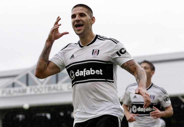 Mitrović has stayed with Fulham despite their relegation.