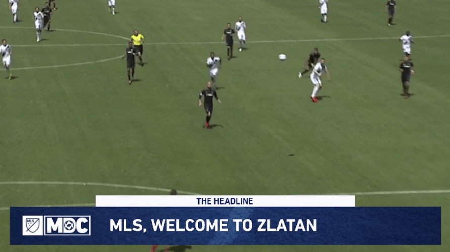 All eyes on Zlatan Ibrahimovic in LA Galaxy debut