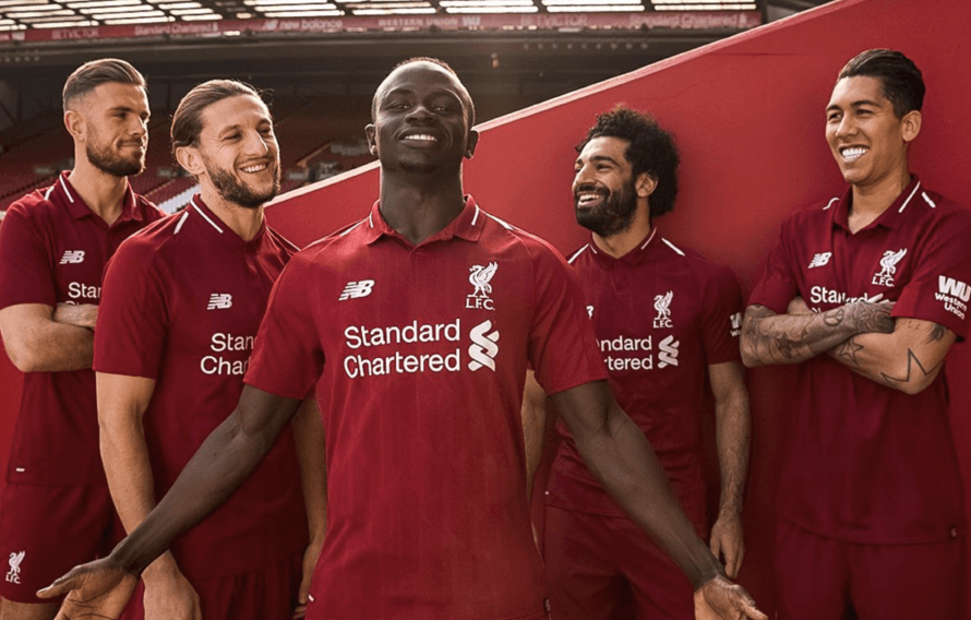 31d719abb Liverpool Officially Confirm Their New Kit For Next Season