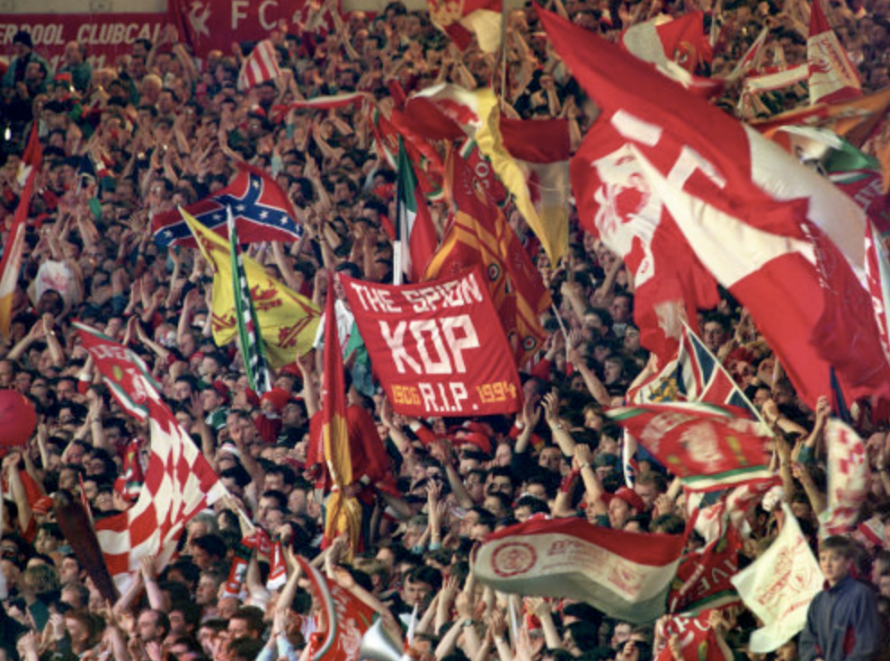 Liverpool's Famous Old Terrace Witnessed Its Final Game On April 30, 1994
