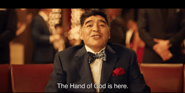 Maradona the star of new promotional World Cup video