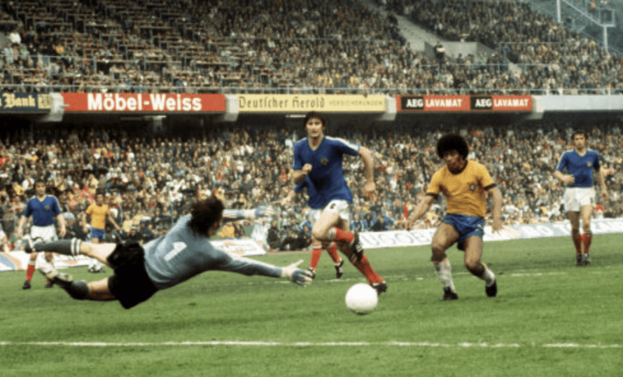 Brazil 0-0 Yugoslavia proved a dismal opener to the 1974 World Cup