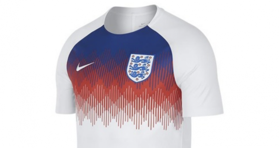 aff1f156f Sold Out Nike England Training Shirt Is Fetching Mega Money On eBay