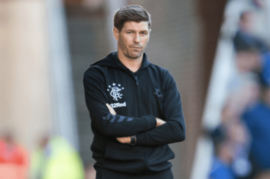 a8a3847cb All Eyes On Steven Gerrard As A New Era Dawns At Rangers