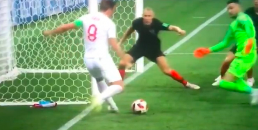 The Amazing Save Which Denied Harry Kane An England Goal Against Croatia