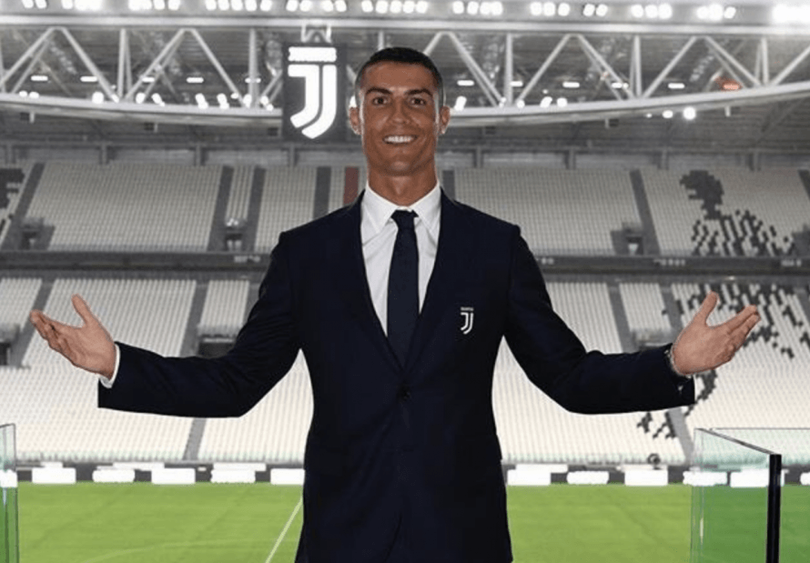 Cristiano Ronaldo gets used to his new home in Turin