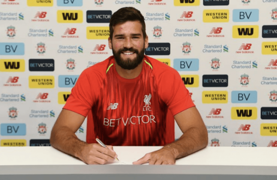 Alisson's stats have been compared to his rival Premier League goalkeepers