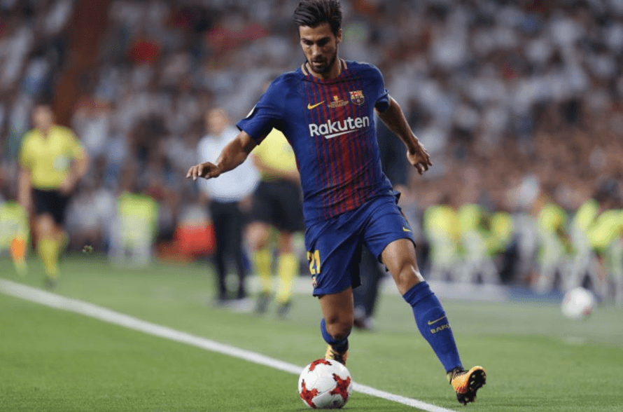 Barcelona's Andre Gomes could be heading for the Premier League
