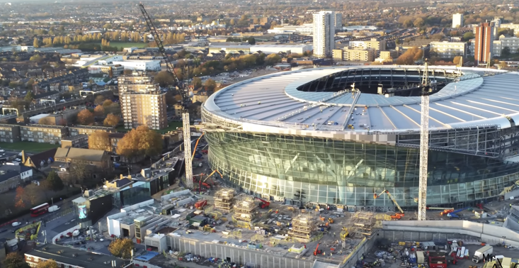 Spurs' new stadium is edging closer to completion but the wait will be worth it says boss Mauricio Pochettino