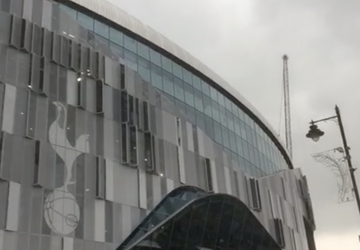 We have been down to see the new Spurs Stadium today and it looks stunning