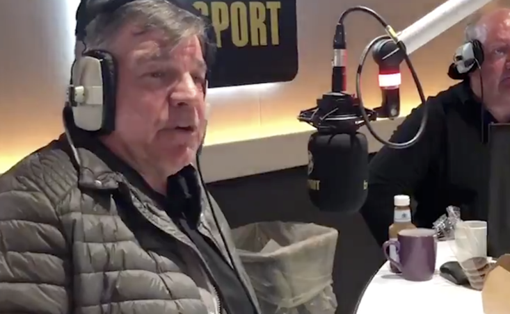 Sam Allardyce has been singing the praises of Donald Trump