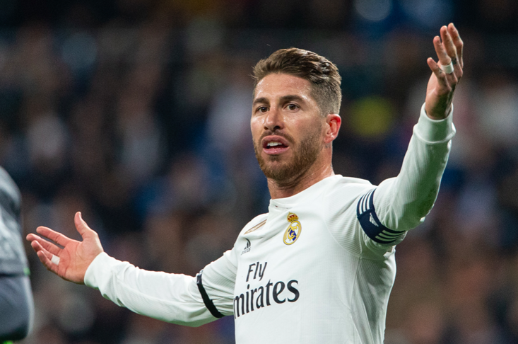 Sergio Ramos got himself deliberately yellow carded in the first leg of the Champions League clash with Ajax
