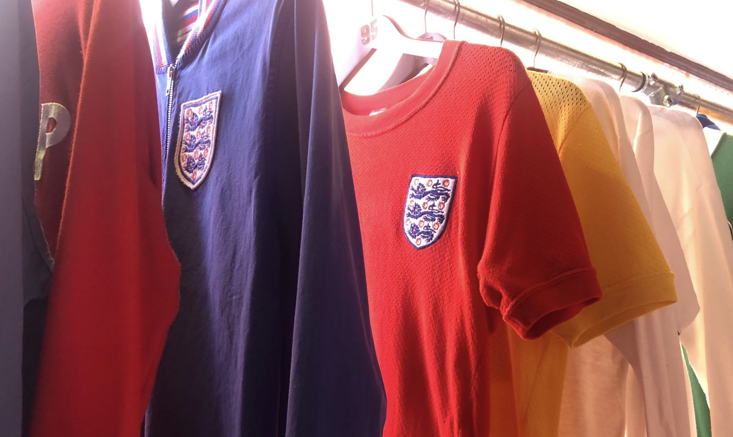 Umbro supplied England with kits and training gear when they won the World Cup in 1966
