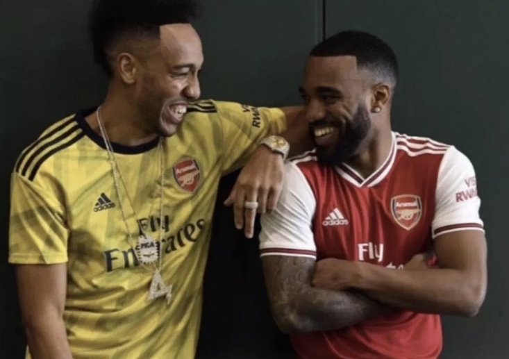 Are these the new Arsenal kits? Fans certainly hope so. Photo: Instagram