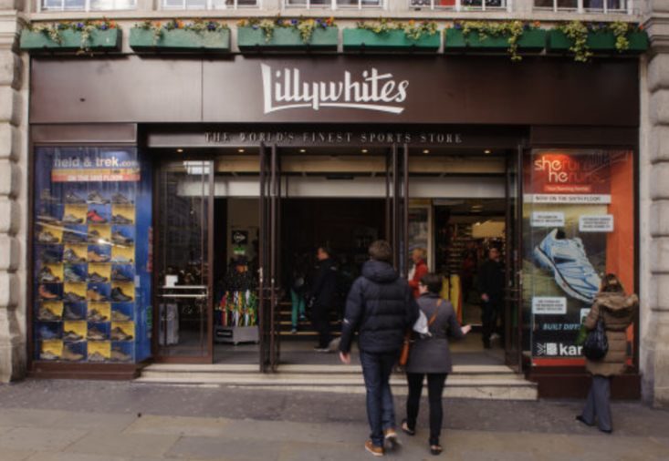 Lillywhites remains in its prestigious location in London but it's little more than a Sports Direct these days