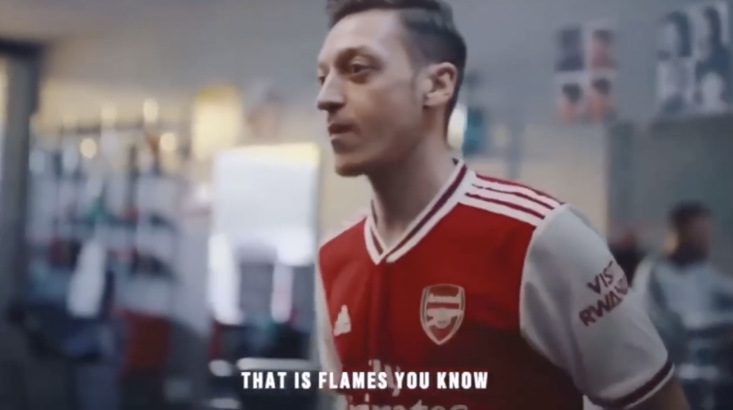 Arsenal's new kit leaked in epic promo?