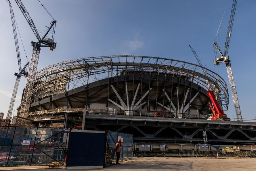 Tottenham's new stadium is a shambles