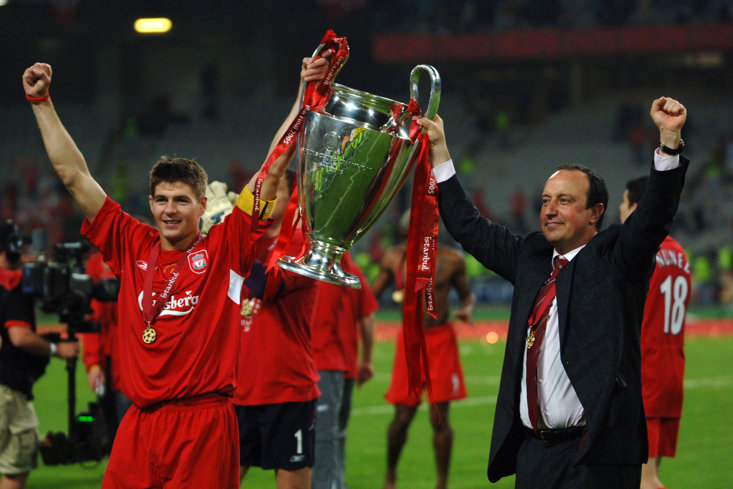 BENITEZ'S CHAMPIONS LEAGUE WINNERS STRUGGLED IN THE LEAGUE IN 2005