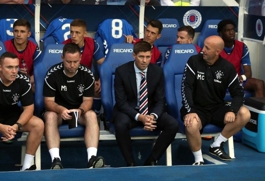 Steven Gerrard Was Unhappy With His Team Losing To Aberdeen