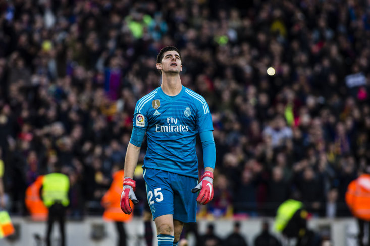 12c0e9070fa   Karma Works In Wonderful Ways   - Chelsea Fans Revel In Thibaut Courtois  Nightmare As Real Madrid Lose To Eibar
