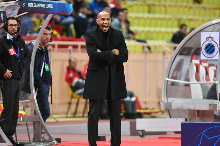 Former Gunner Thierry Henry has recently stepped into the world of management
