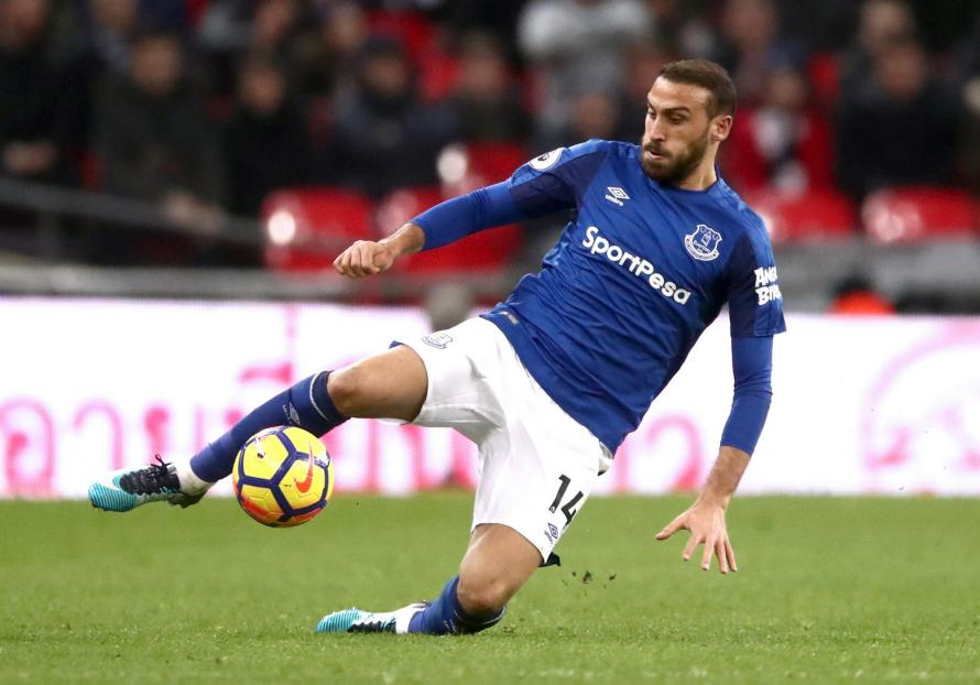 Cenk Tosun finds himself on the fringes of the Everton first team just a few weeks after joining the club