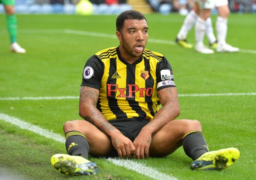 It was a Troy Deeney-inspired comeback for Watford today against Spurs