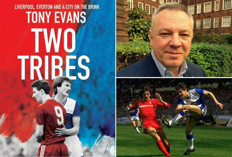 Tony Evans' new book takes us back to Liverpool in the 1980s