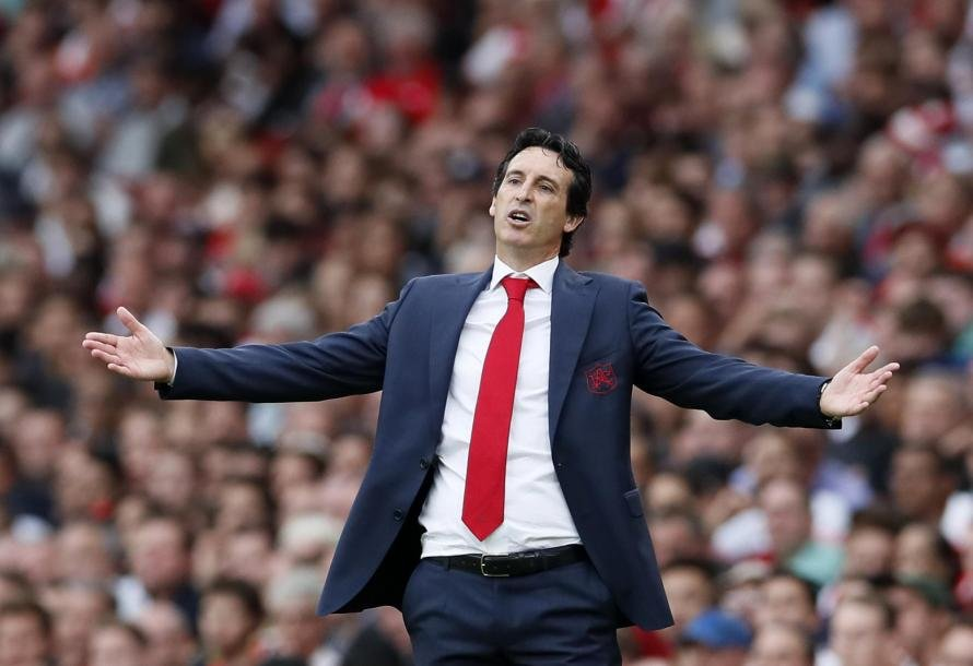 Arsenal boss Unai Emery has been talking to reporters ahead of this weekend's game against West Ham