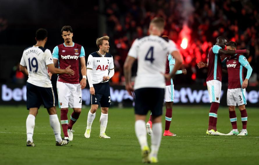 7fb94b95b6a 5 Of The Best West Ham v Spurs Derbies In Premier League History