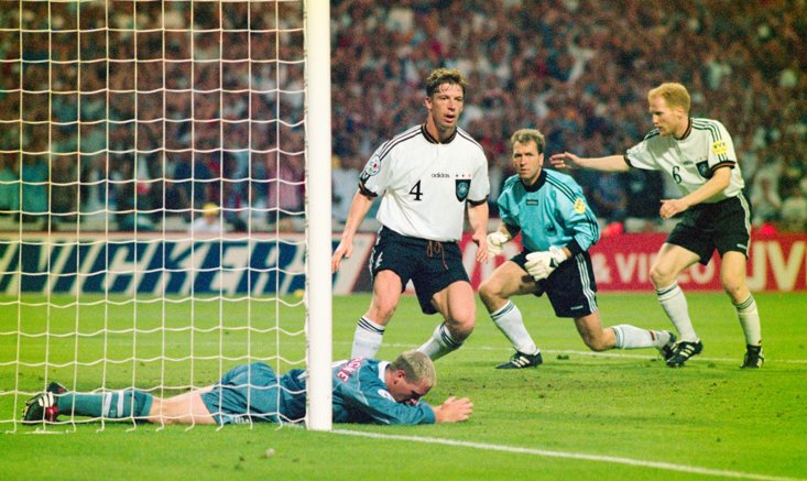 Germany equalise at Wembley (Getty Images)