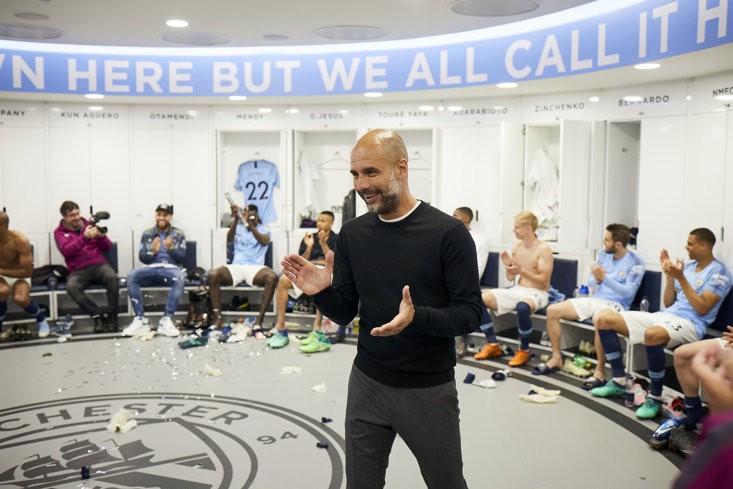 GUARDIOLA IN 'ALL OR NOTHING: MANCHESTER CITY'