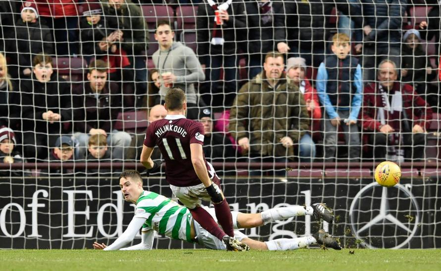 Hearts end Celtic's run