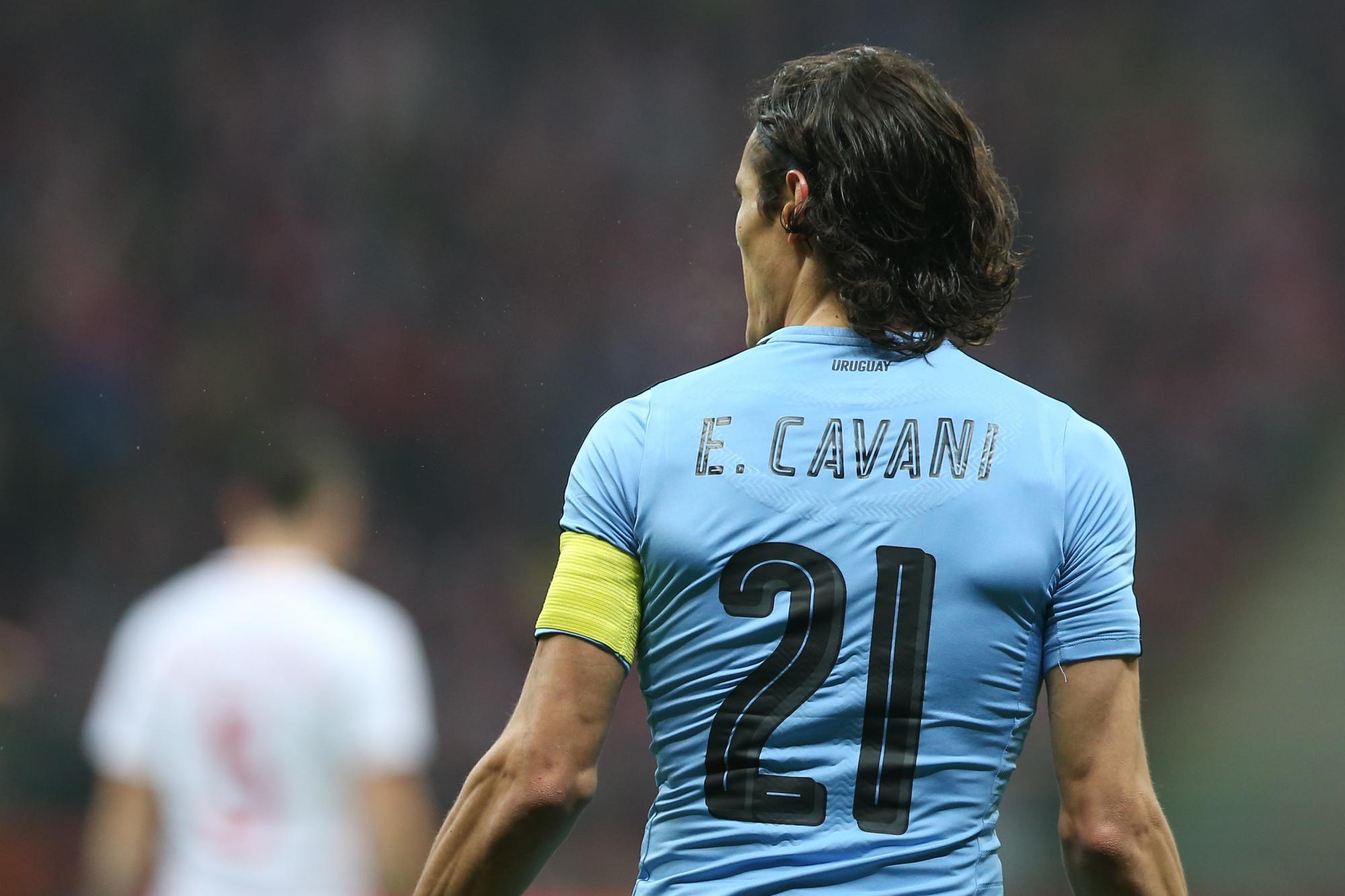 buy online 5a07d fd32d Ahead of today's Portugal Clash, Uruguay's Edinson Cavani ...
