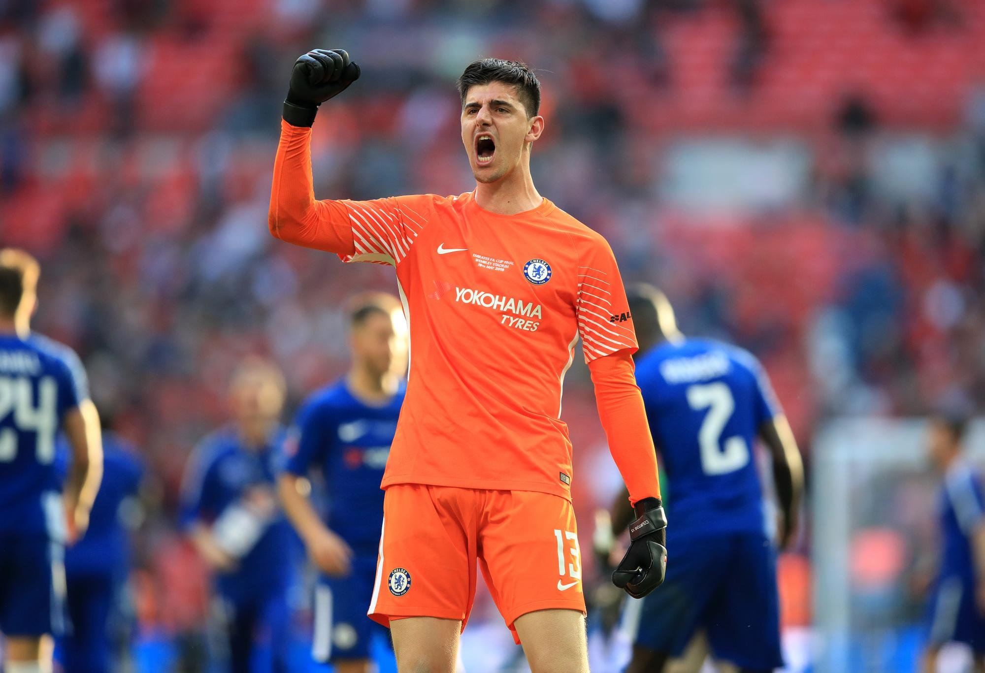 Chelsea Keeper Thibaut Courtois Has Gone From World Cup