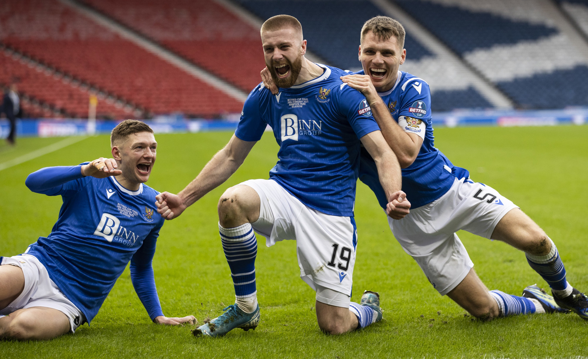 Rooney Nets The Only Goal To Lead St Johnstone To Betfred Cup Glory