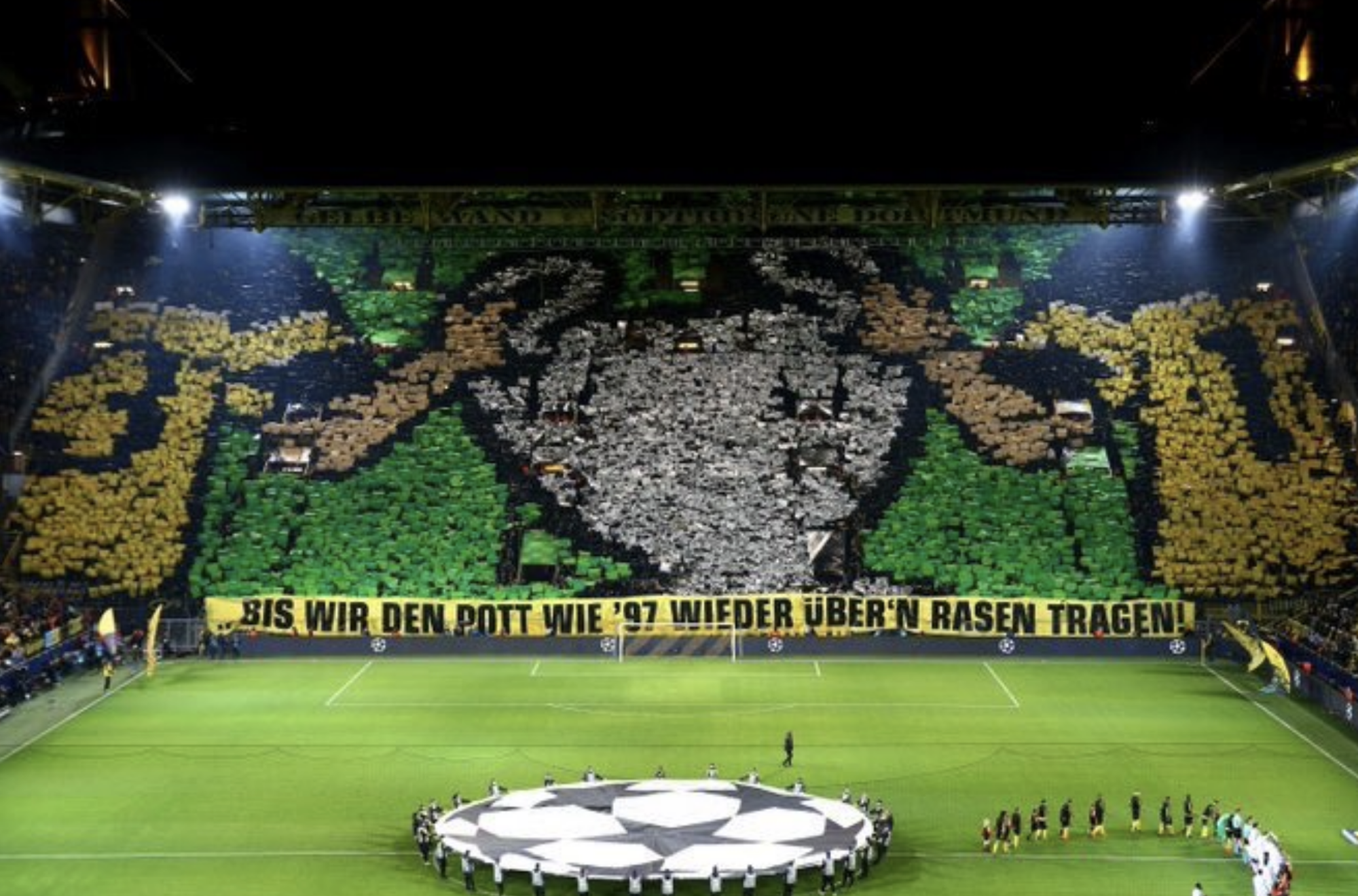 Europe Wants To Stand Borussia Dortmund S Yellow Wall Calls For Change Against Spurs