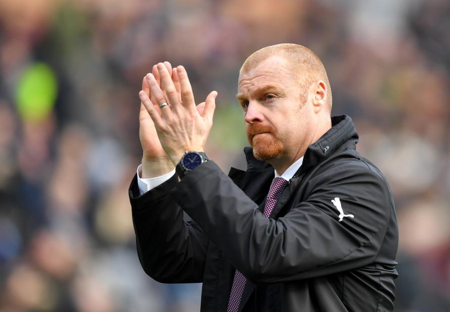 Manager Sean Dyche celebrates fifth anniversary at Burnley