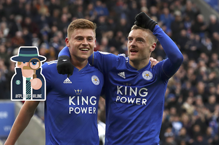 Jamie Vardy has registered a goal involvement every 73 minutes under Brendan Rodgers