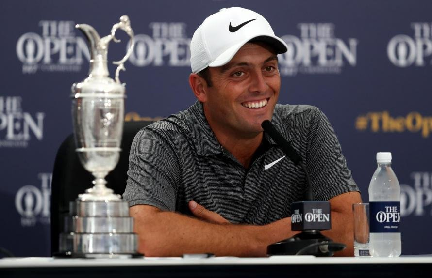 Rory McIlroy Struggling Early In The Final Round Of The Open