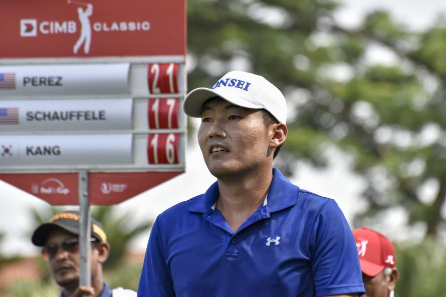 Thomas races to three-stroke lead in South Korea
