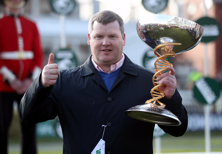 Gordon Elliott has an army of entries for 2019 Grand National