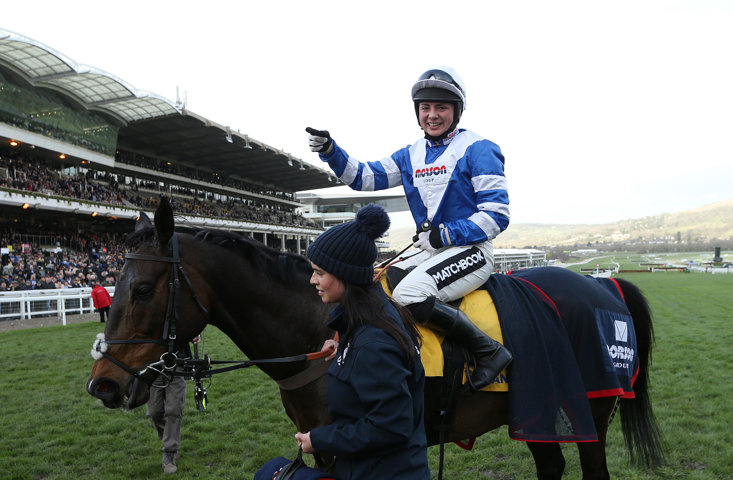 Frodon was a brave winner of the Ryanair Chase on Thursday