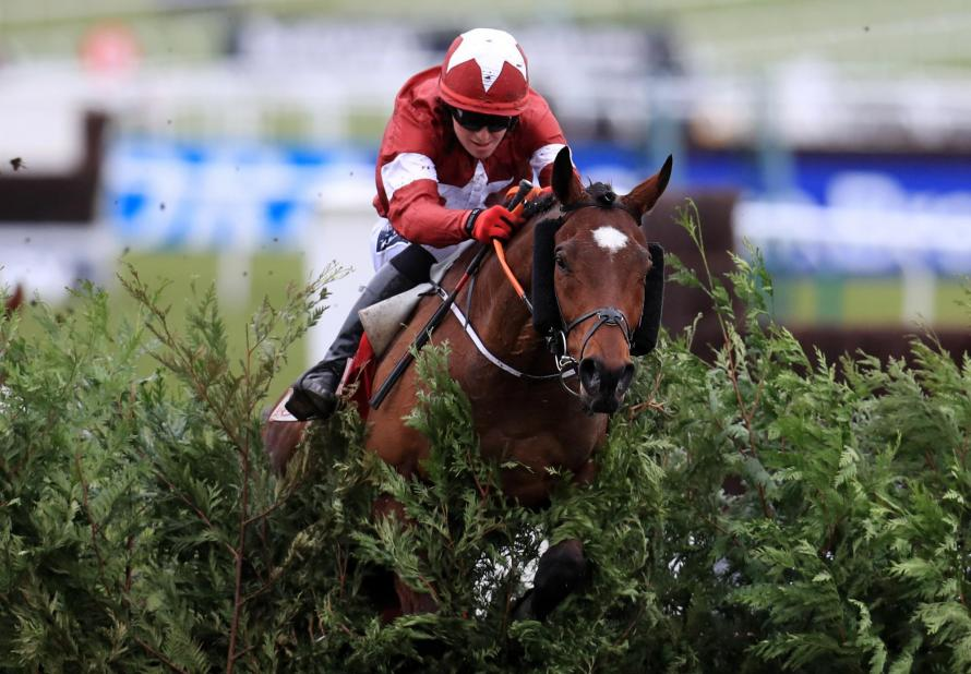Tiger Roll Wins The Grand National For Davy Russell And Gordon Elliott