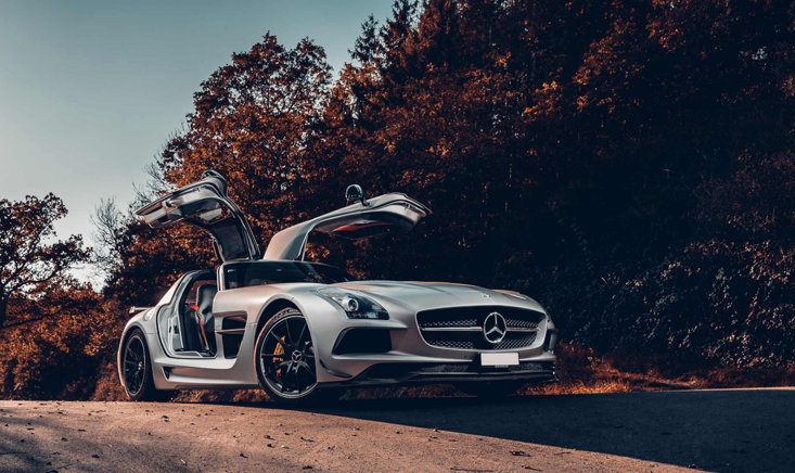 01 Mercedes Benz Vehicles Mbsocialcar Mercedes Benz Sls Amg Black C 197 Series Dennis Noten 3400x1440jpg